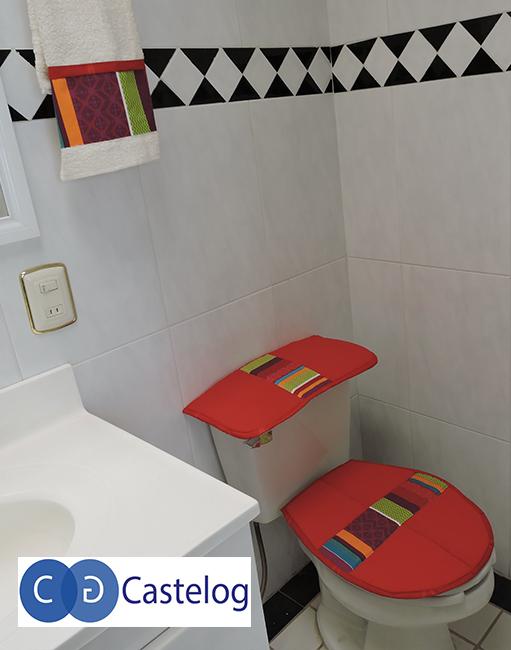 Juegos De Baño Rojos:Inicio / Juego de Baño / Juego de Baño Castelog