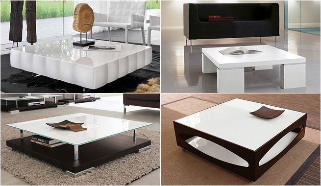 Mesas de centro modernas para tu sala castelog - Figuras decorativas modernas salon ...