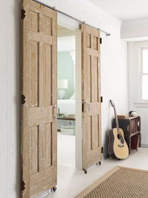 Puertas correderas para optimizar espacios pequeños   Castelog