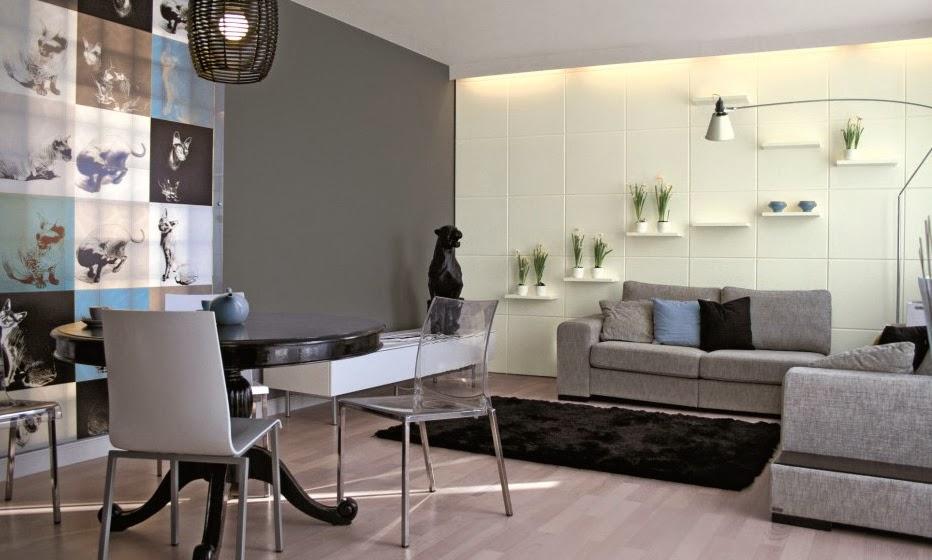 Como combinar el gris y el beige en la decoracion castelog Colores para paredes de salas pequenas