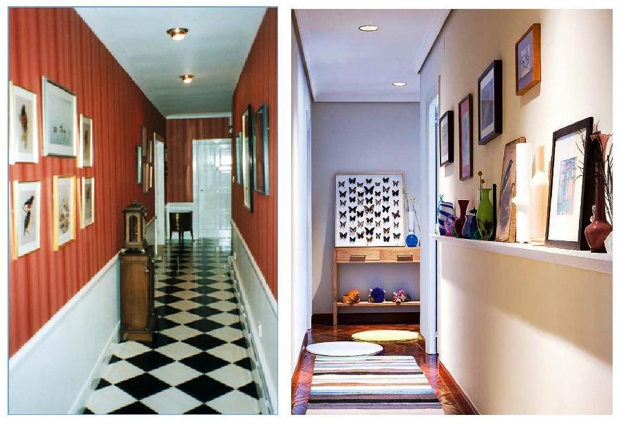 C mo decorar el pasillo seg n el feng shui castelog - Cortinas para pasillos ...
